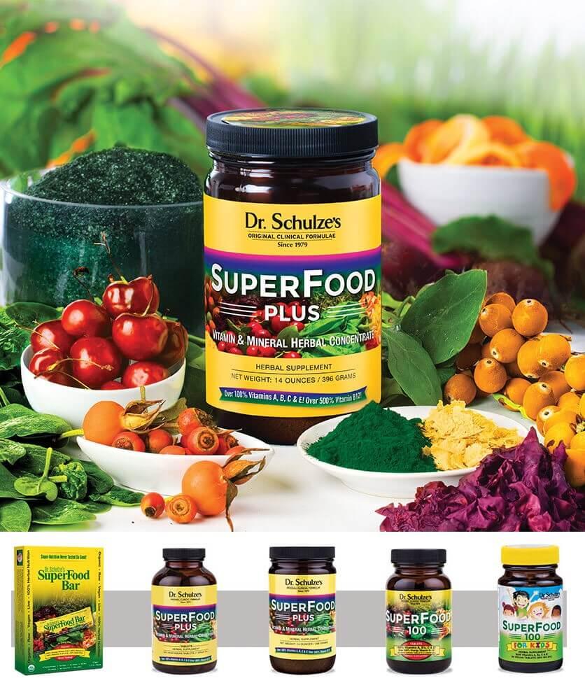 Dr. Schulze's Healthy Ingredients